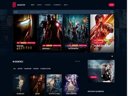 Blockter - Movie and TV Show Database WordPress Theme