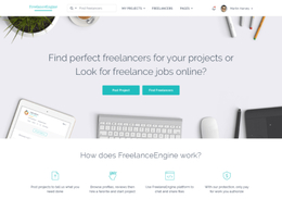 Freelance Engine -  Freelance Marketplace With Escrow System