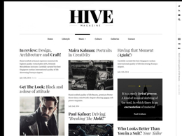 Hive - Top-quality Adaptive Blogging Gutenberg Theme