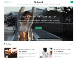 Mediumish - WordPress Blog Theme with Live Customizer