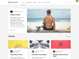 Readable - Blogging Theme Inspired by Medium
