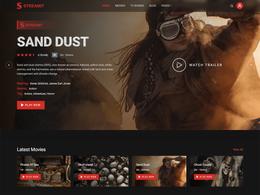 Streamit - Netflix Video Streaming WordPress Theme
