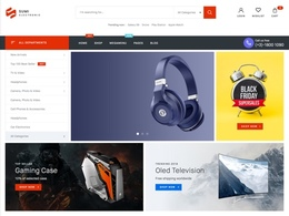 Sumi - Bold and Modern WooCommerce Electronics Store Theme