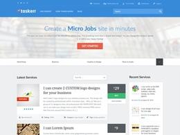 Taskerr - Powerful Microjob Marketplace Theme