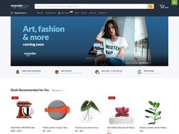 WoonderShop Jungle - Amazon-inspired eCommerce Theme